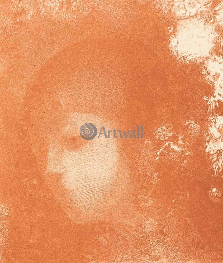 Редон Одилон, картина Голова ребенка с цветамиРедон Одилон<br>Репродукция на холсте или бумаге. Любого нужного вам размера. В раме или без. Подвес в комплекте. Трехслойная надежная упаковка. Доставим в любую точку России. Вам осталось только повесить картину на стену!<br>