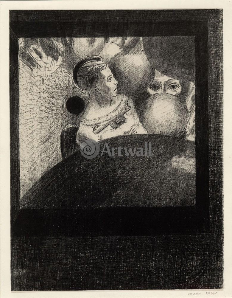 Редон Одилон, картина Женщина у окнаРедон Одилон<br>Репродукция на холсте или бумаге. Любого нужного вам размера. В раме или без. Подвес в комплекте. Трехслойная надежная упаковка. Доставим в любую точку России. Вам осталось только повесить картину на стену!<br>