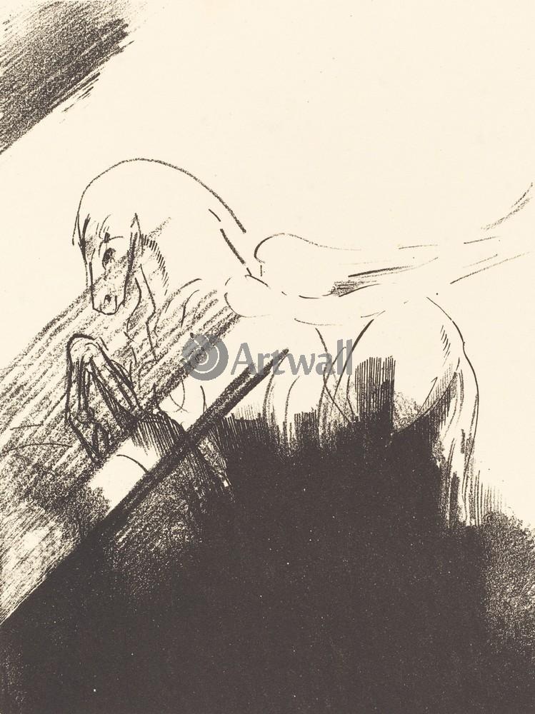 Редон Одилон, картина Крылатая лошадьРедон Одилон<br>Репродукция на холсте или бумаге. Любого нужного вам размера. В раме или без. Подвес в комплекте. Трехслойная надежная упаковка. Доставим в любую точку России. Вам осталось только повесить картину на стену!<br>