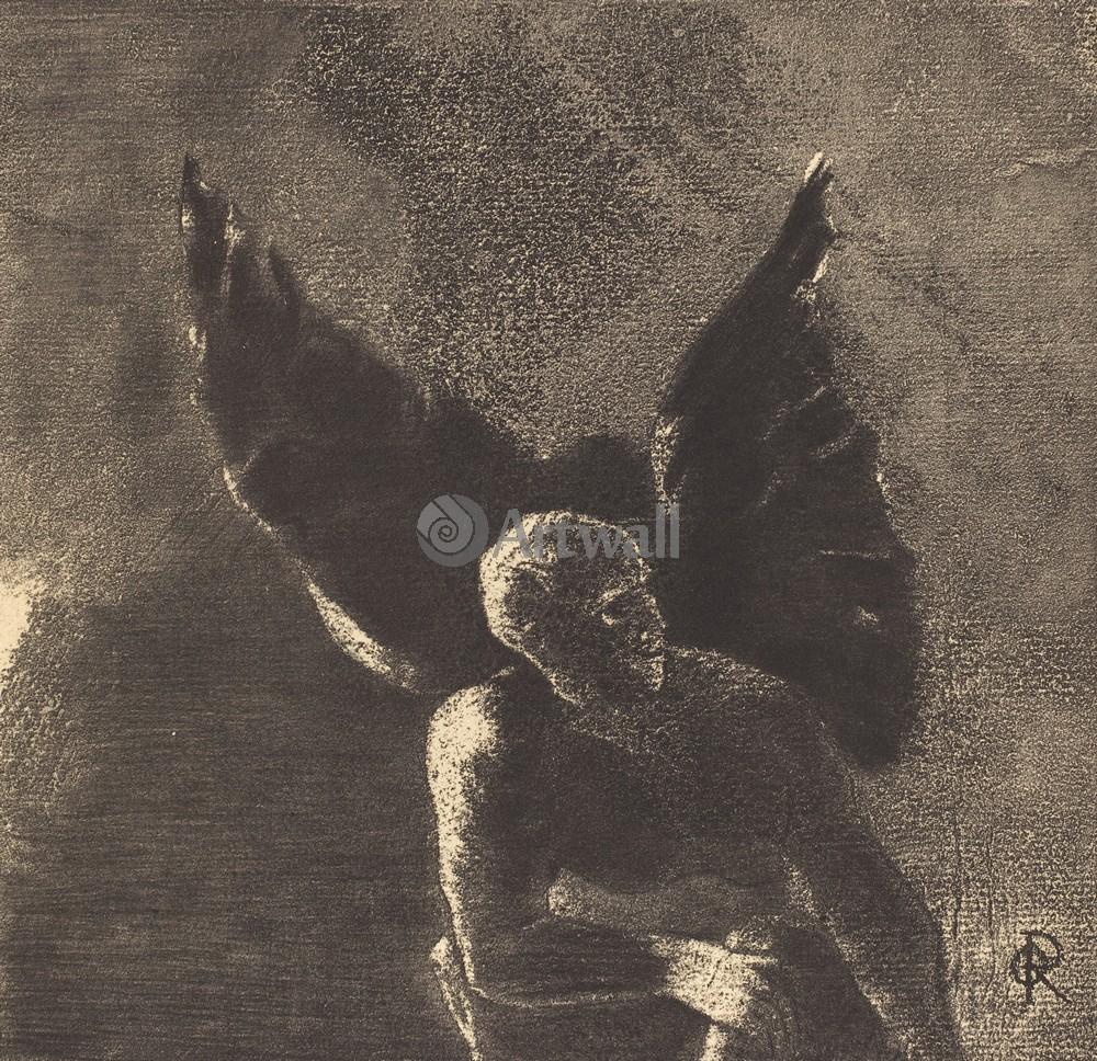 Редон Одилон, картина Слава и похвала Вам, сатане, в высотах небес, где вы правилиРедон Одилон<br>Репродукция на холсте или бумаге. Любого нужного вам размера. В раме или без. Подвес в комплекте. Трехслойная надежная упаковка. Доставим в любую точку России. Вам осталось только повесить картину на стену!<br>