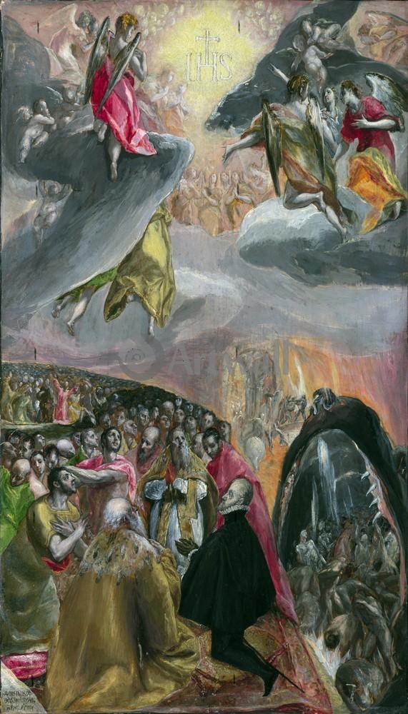 Эль Греко, картина Поклонение имени ИисусаЭль Греко<br>Репродукция на холсте или бумаге. Любого нужного вам размера. В раме или без. Подвес в комплекте. Трехслойная надежная упаковка. Доставим в любую точку России. Вам осталось только повесить картину на стену!<br>