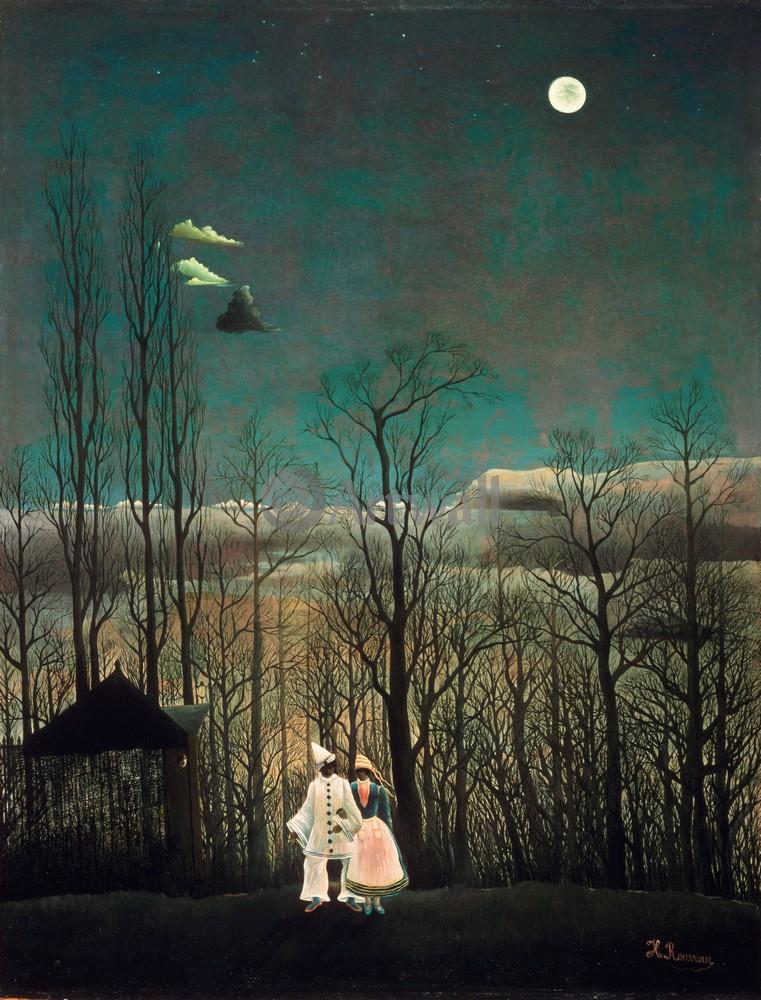 """Руссо Анри, картина """"Вечер карнавала"""" от Artwall"""