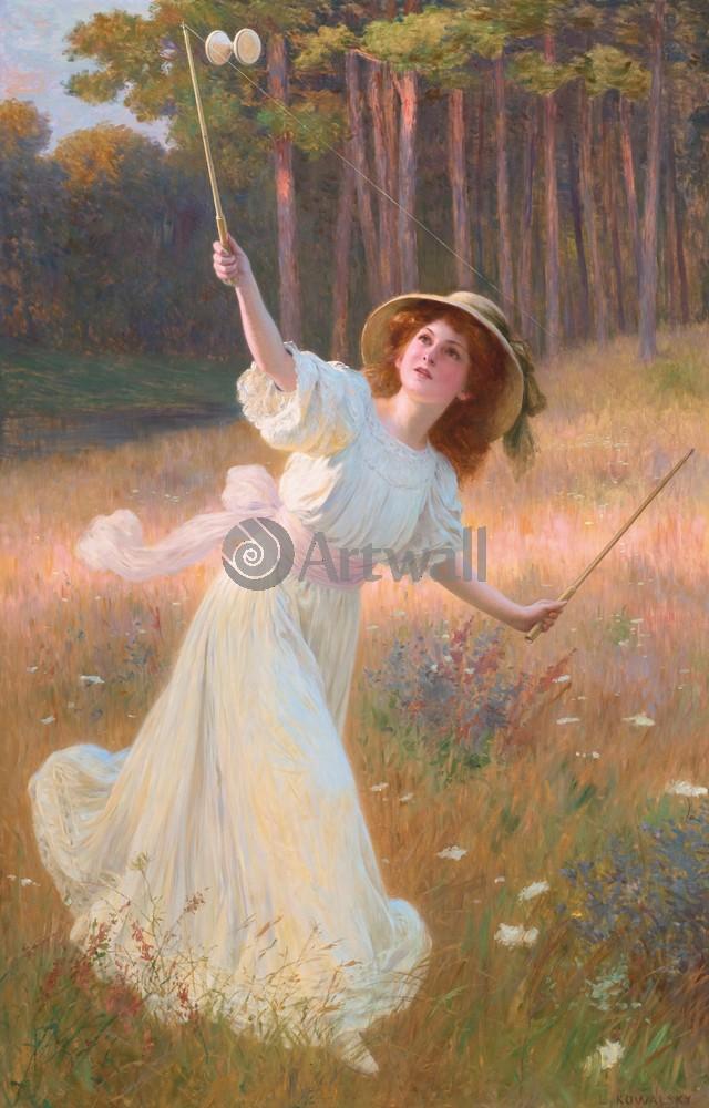 Романтика в живописи, картина