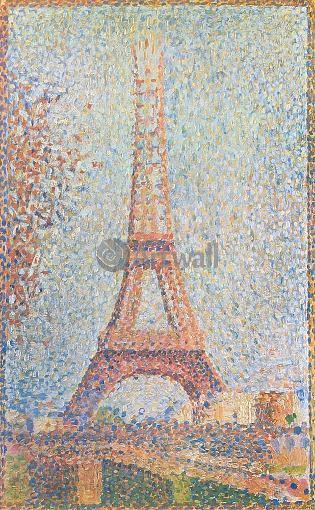 Сера Жорж, картина Эйфелева башняСера Жорж<br>Репродукция на холсте или бумаге. Любого нужного вам размера. В раме или без. Подвес в комплекте. Трехслойная надежная упаковка. Доставим в любую точку России. Вам осталось только повесить картину на стену!<br>