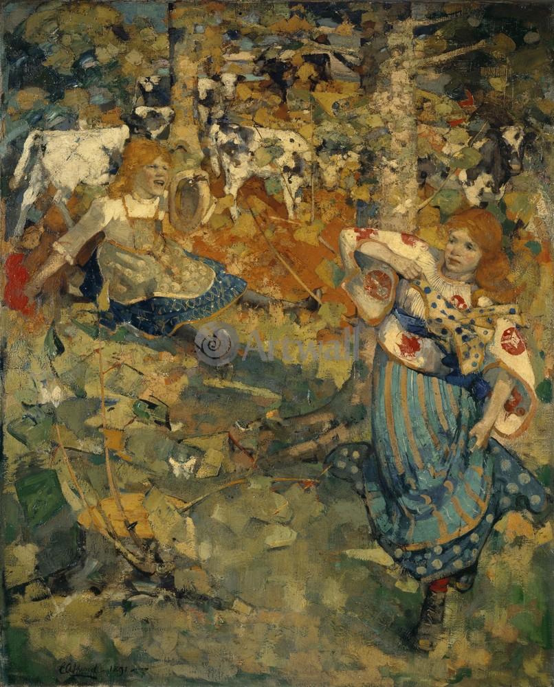 Хорнел Эдвард Аткинсон, картина