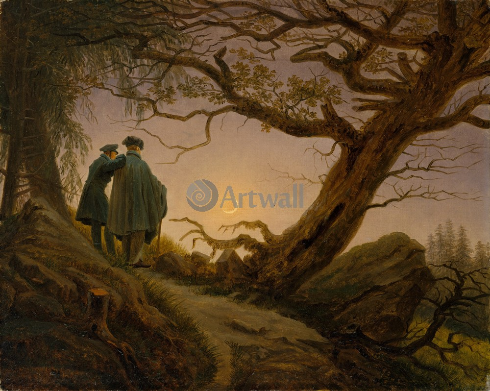 Каспар Фридрих, картина