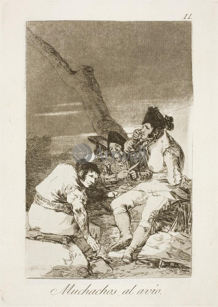 Гойа Франциско - графика, картина