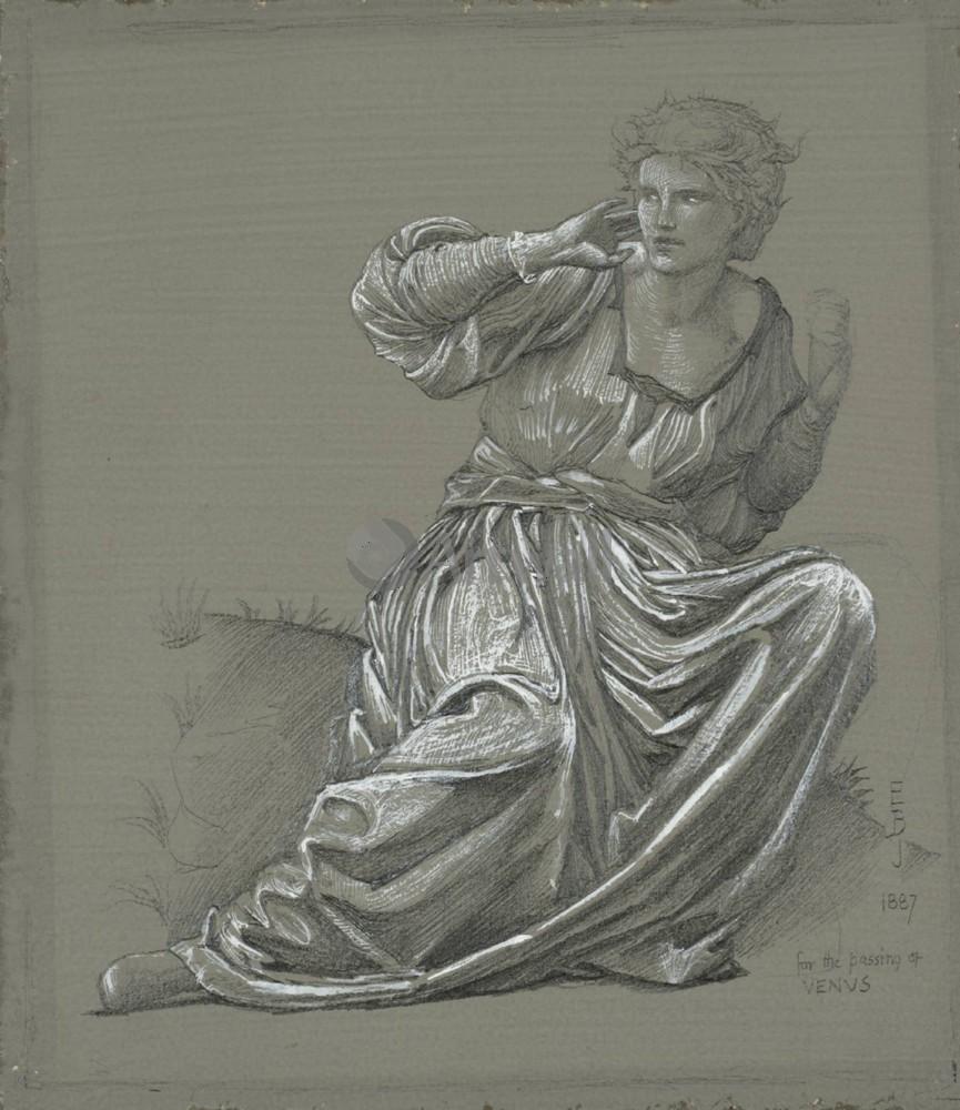 Берн-Джонс Эдвард, картина Эскиз сидящей женщиныБерн-Джонс Эдвард<br>Репродукция на холсте или бумаге. Любого нужного вам размера. В раме или без. Подвес в комплекте. Трехслойная надежная упаковка. Доставим в любую точку России. Вам осталось только повесить картину на стену!<br>