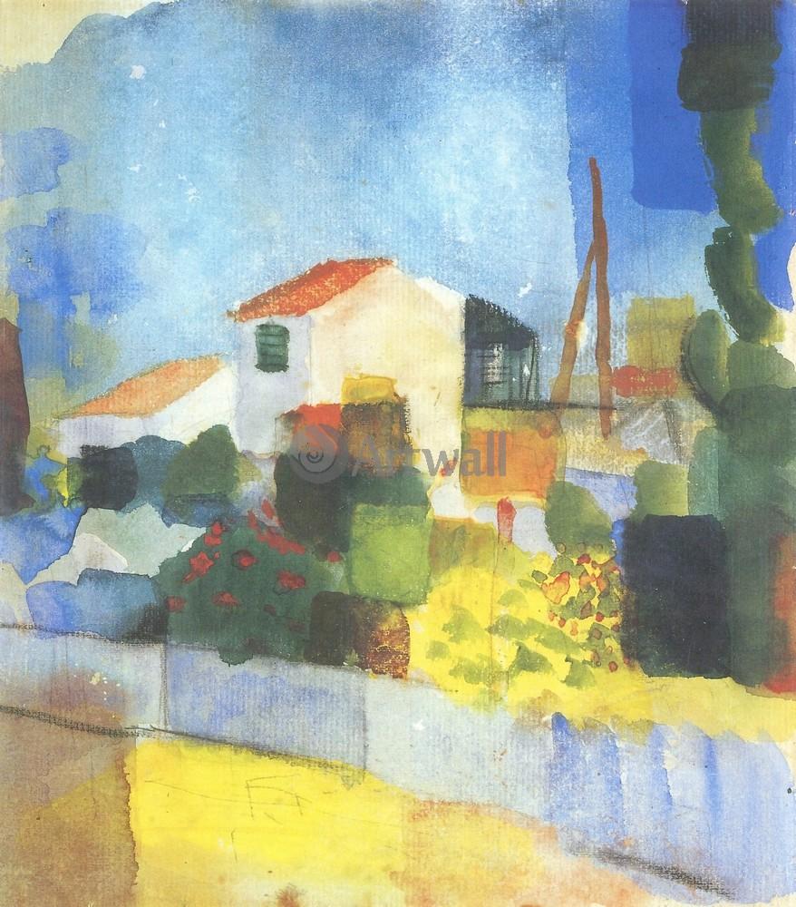 Маке Август, картина