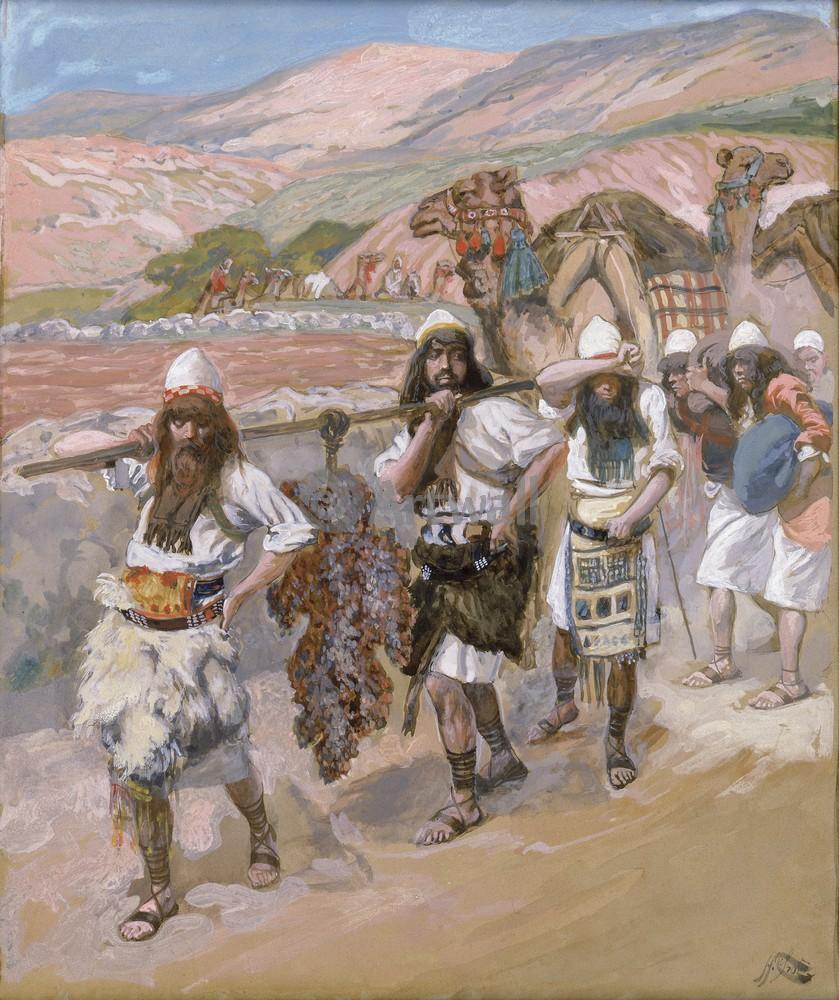 Тиссо Джеймс - иллюстрации к Ветхому Завету, картина