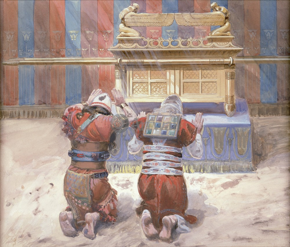 Тиссо Джеймс - иллюстрации к Ветхому Завету, картина Моисей и Иисус Навин в скинииТиссо Джеймс - иллюстрации к Ветхому Завету<br>Репродукция на холсте или бумаге. Любого нужного вам размера. В раме или без. Подвес в комплекте. Трехслойная надежная упаковка. Доставим в любую точку России. Вам осталось только повесить картину на стену!<br>