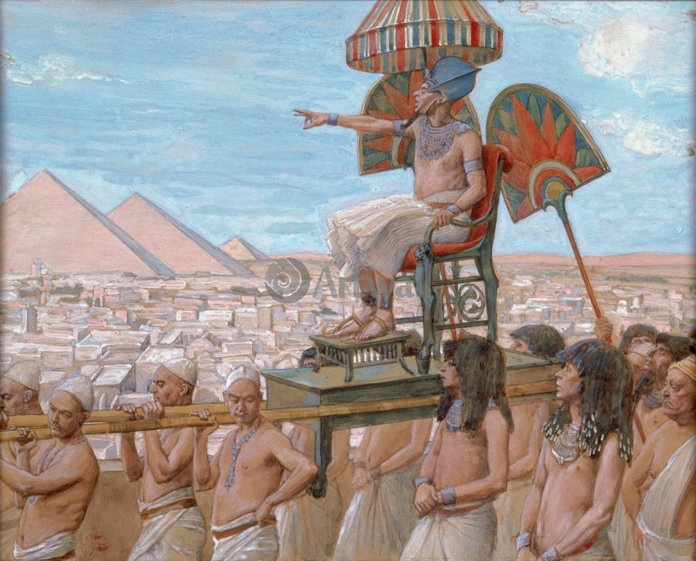 Тиссо Джеймс - иллюстрации к Ветхому Завету, картина Фараон отмечает важность еврейского народаТиссо Джеймс - иллюстрации к Ветхому Завету<br>Репродукция на холсте или бумаге. Любого нужного вам размера. В раме или без. Подвес в комплекте. Трехслойная надежная упаковка. Доставим в любую точку России. Вам осталось только повесить картину на стену!<br>