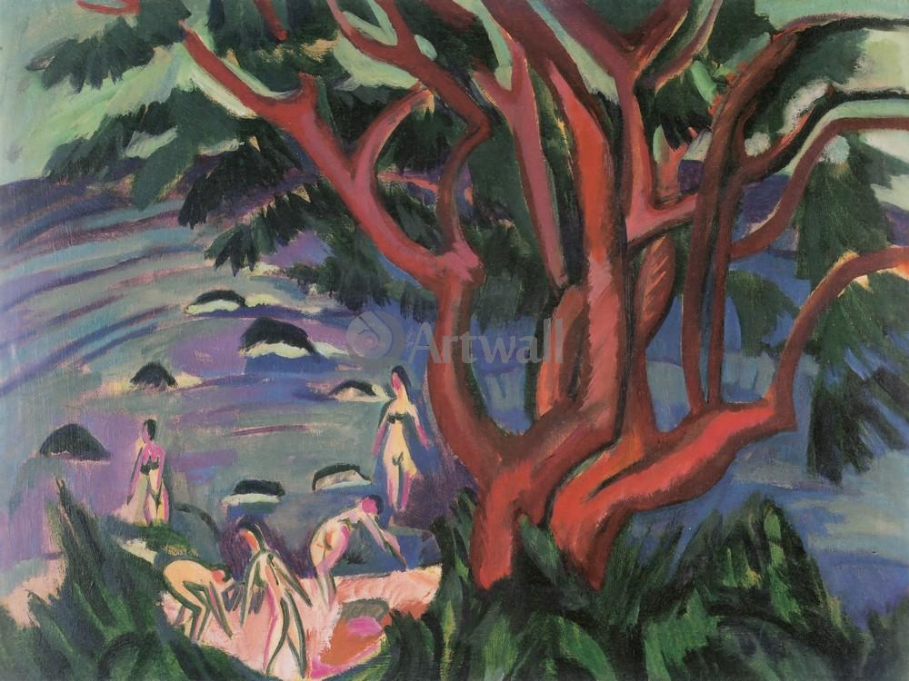 Кирхнер Эрнст, картина Красное дерево на берегуКирхнер Эрнст<br>Репродукция на холсте или бумаге. Любого нужного вам размера. В раме или без. Подвес в комплекте. Трехслойная надежная упаковка. Доставим в любую точку России. Вам осталось только повесить картину на стену!<br>