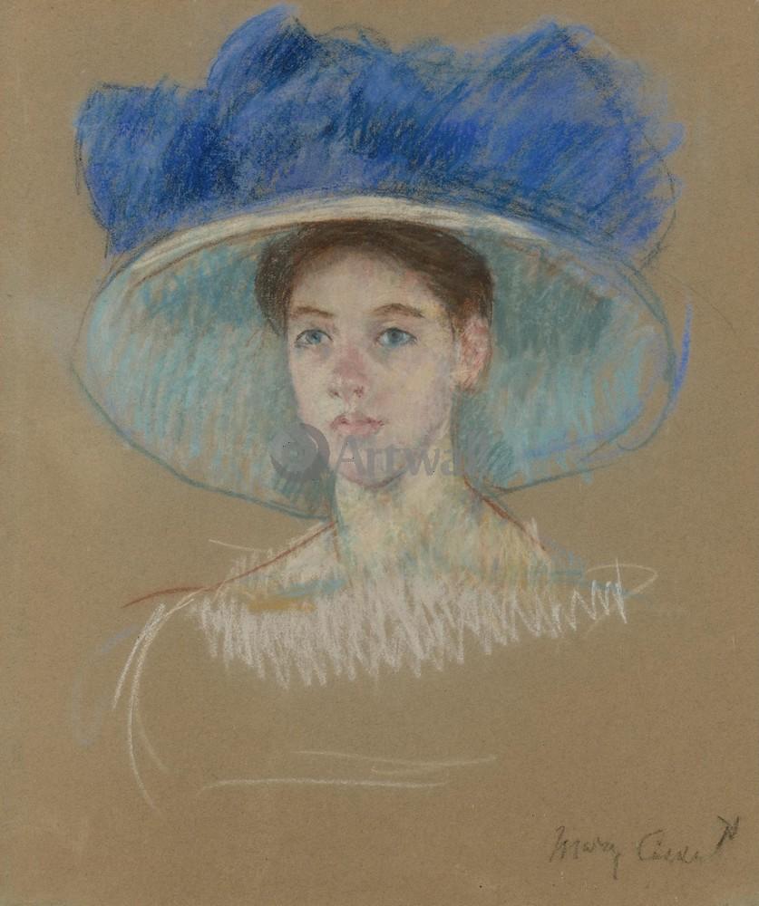 Кассат Мэри, картина Голова женщины в большой шляпеКассат Мэри<br>Репродукция на холсте или бумаге. Любого нужного вам размера. В раме или без. Подвес в комплекте. Трехслойная надежная упаковка. Доставим в любую точку России. Вам осталось только повесить картину на стену!<br>