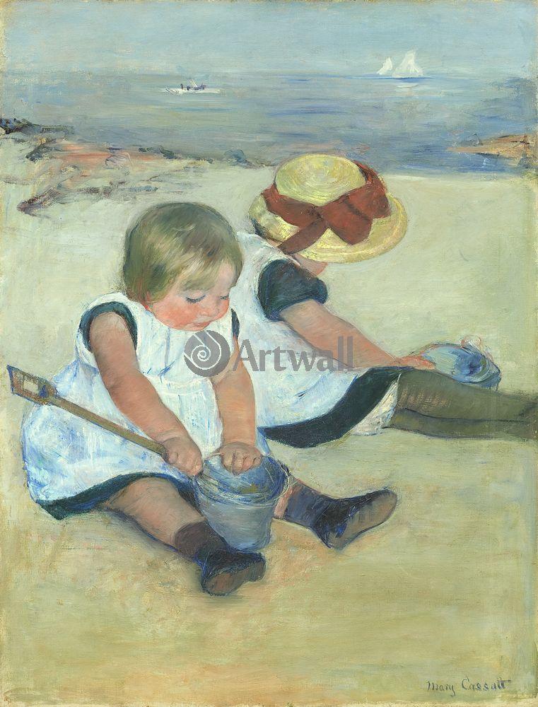 Кассат Мэри, картина Девочки, играющие на пляжеКассат Мэри<br>Репродукция на холсте или бумаге. Любого нужного вам размера. В раме или без. Подвес в комплекте. Трехслойная надежная упаковка. Доставим в любую точку России. Вам осталось только повесить картину на стену!<br>