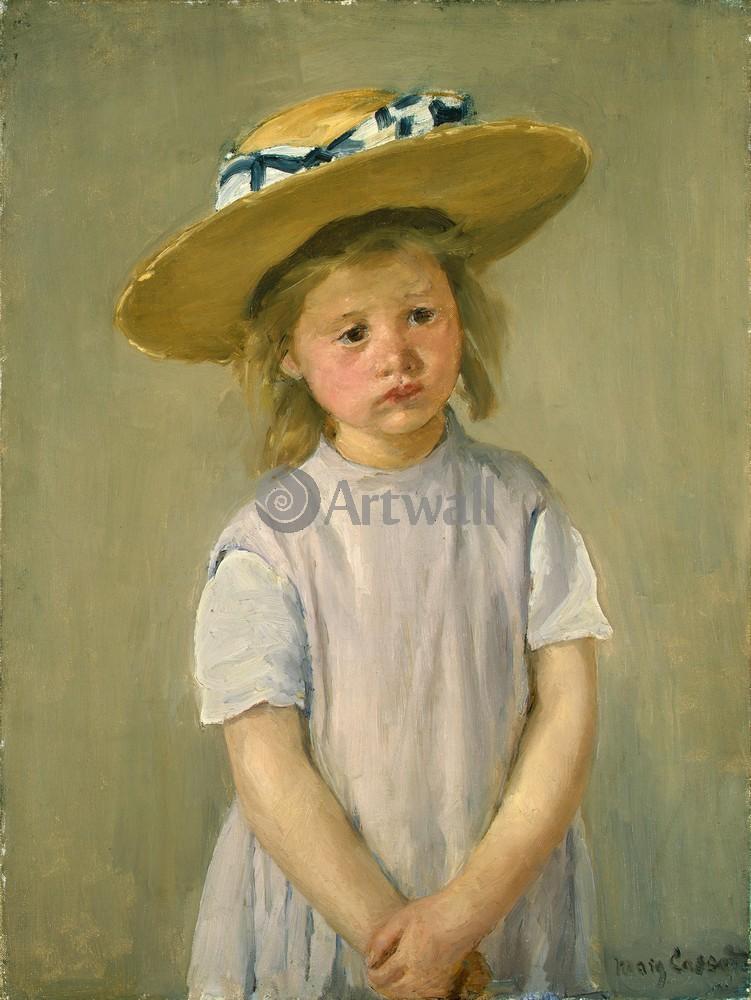 Кассат Мэри, картина Ребенок в соломенной шляпеКассат Мэри<br>Репродукция на холсте или бумаге. Любого нужного вам размера. В раме или без. Подвес в комплекте. Трехслойная надежная упаковка. Доставим в любую точку России. Вам осталось только повесить картину на стену!<br>