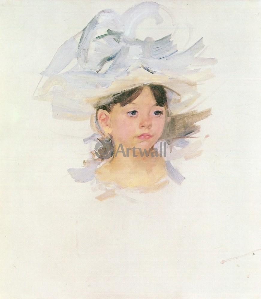 Кассат Мэри, картина Эллен в большой голубой шляпе, 20x23 см, на бумагеКассат Мэри<br>Постер на холсте или бумаге. Любого нужного вам размера. В раме или без. Подвес в комплекте. Трехслойная надежная упаковка. Доставим в любую точку России. Вам осталось только повесить картину на стену!<br>