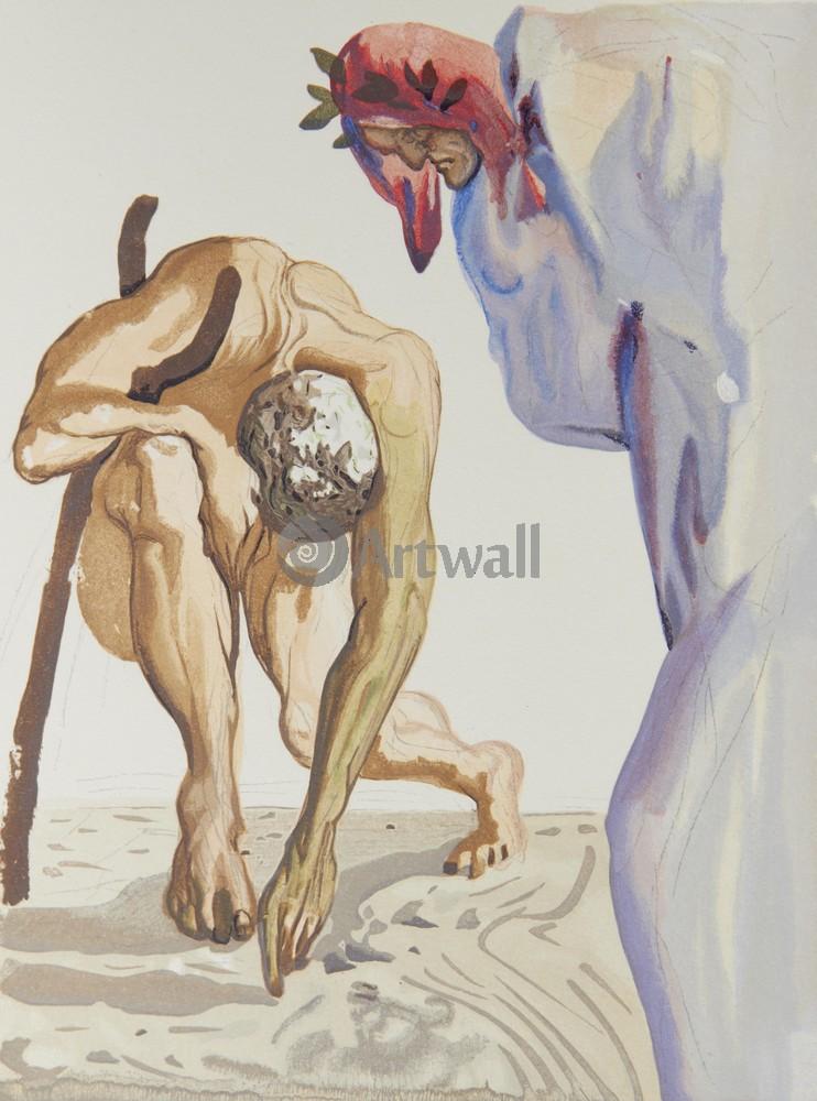 "Дали Сальвадор, картина ""Божественная комедия"" от Artwall"