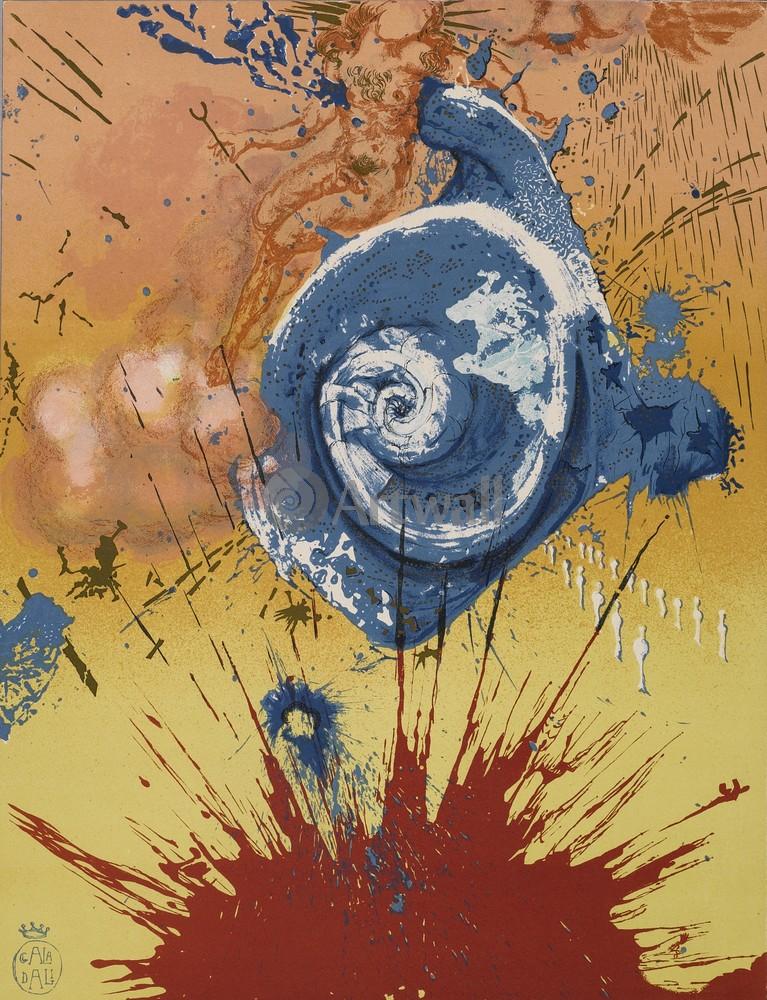 Дали Сальвадор, картина Дон КихотДали Сальвадор<br>Репродукция на холсте или бумаге. Любого нужного вам размера. В раме или без. Подвес в комплекте. Трехслойная надежная упаковка. Доставим в любую точку России. Вам осталось только повесить картину на стену!<br>