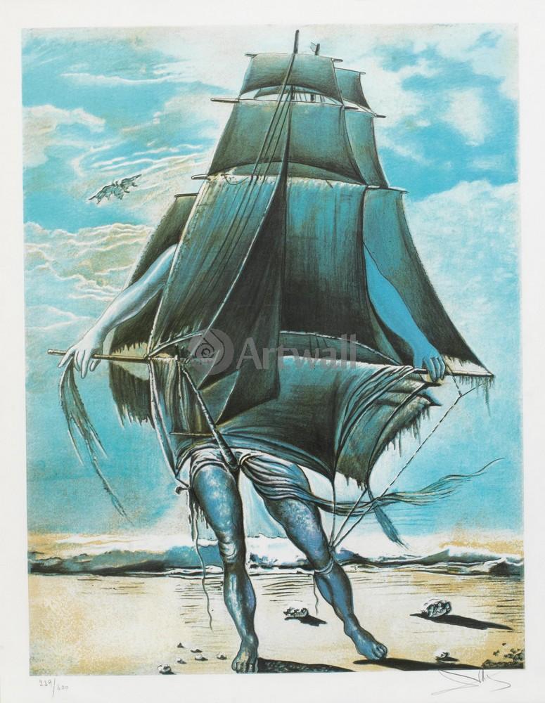 Дали Сальвадор, картина КорабльДали Сальвадор<br>Репродукция на холсте или бумаге. Любого нужного вам размера. В раме или без. Подвес в комплекте. Трехслойная надежная упаковка. Доставим в любую точку России. Вам осталось только повесить картину на стену!<br>