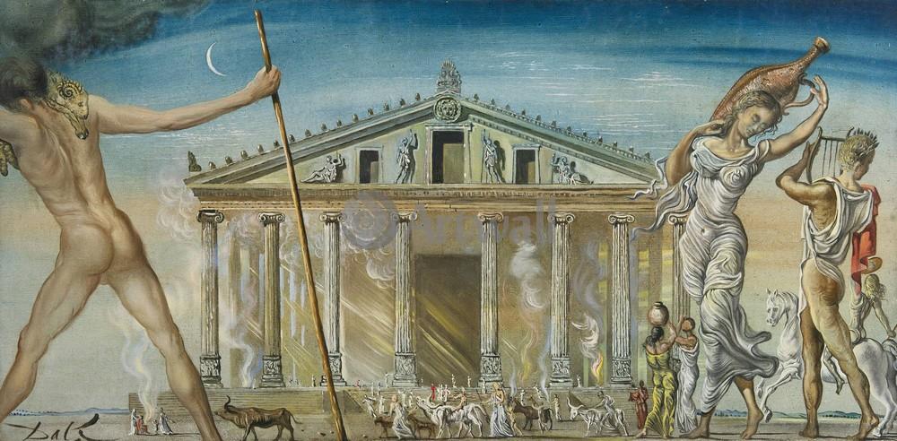 Дали Сальвадор, картина Храм Дианы в ЭфесеДали Сальвадор<br>Репродукция на холсте или бумаге. Любого нужного вам размера. В раме или без. Подвес в комплекте. Трехслойная надежная упаковка. Доставим в любую точку России. Вам осталось только повесить картину на стену!<br>