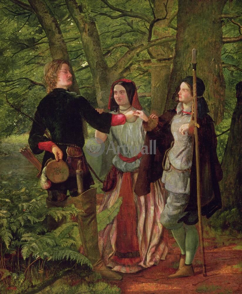 Прерафаэлиты и их последователи, картина