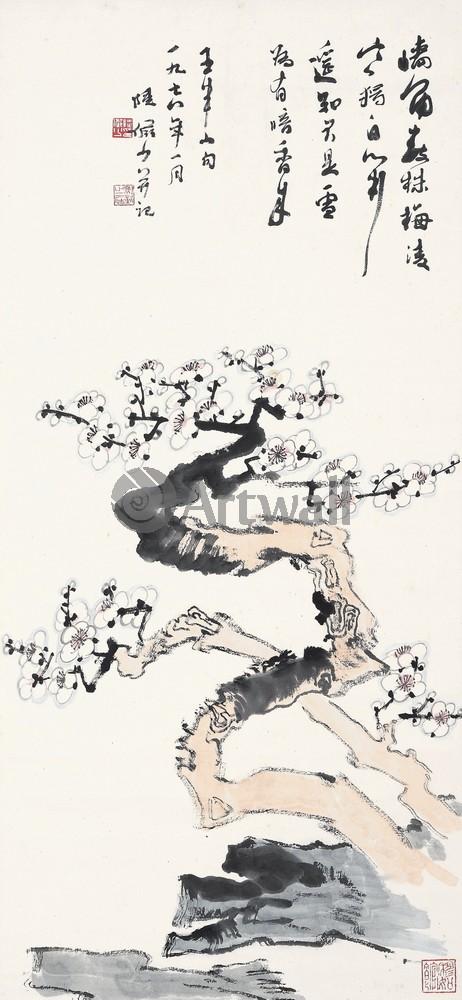 Китайская живопись и графика, картина Репродукция 50117Китайская живопись и графика<br>Репродукция на холсте или бумаге. Любого нужного вам размера. В раме или без. Подвес в комплекте. Трехслойная надежная упаковка. Доставим в любую точку России. Вам осталось только повесить картину на стену!<br>