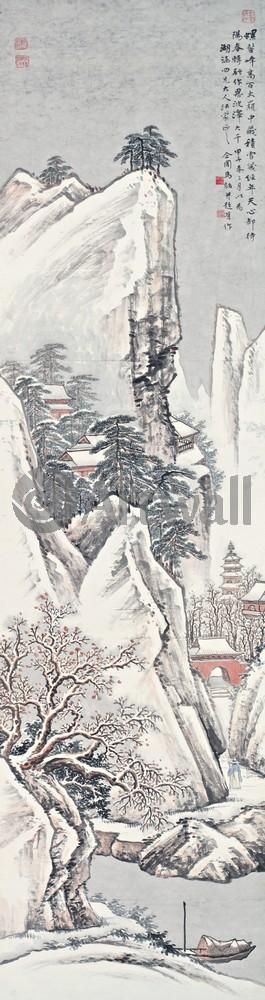 Китайская живопись и графика, картина Репродукция 50122Китайская живопись и графика<br>Репродукция на холсте или бумаге. Любого нужного вам размера. В раме или без. Подвес в комплекте. Трехслойная надежная упаковка. Доставим в любую точку России. Вам осталось только повесить картину на стену!<br>