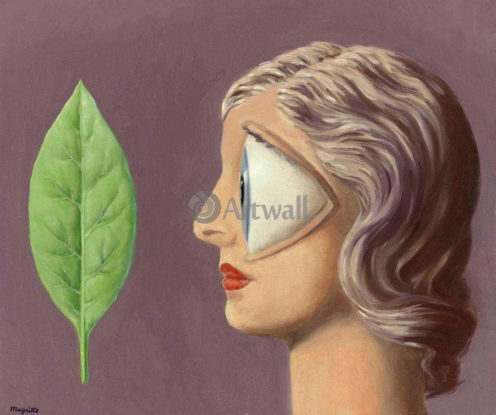Магритт Рене, картина Женщина - масонМагритт Рене<br>Репродукция на холсте или бумаге. Любого нужного вам размера. В раме или без. Подвес в комплекте. Трехслойная надежная упаковка. Доставим в любую точку России. Вам осталось только повесить картину на стену!<br>