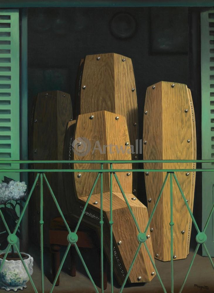 Магритт Рене, картина Перспектива II, балкон МанеМагритт Рене<br>Репродукция на холсте или бумаге. Любого нужного вам размера. В раме или без. Подвес в комплекте. Трехслойная надежная упаковка. Доставим в любую точку России. Вам осталось только повесить картину на стену!<br>