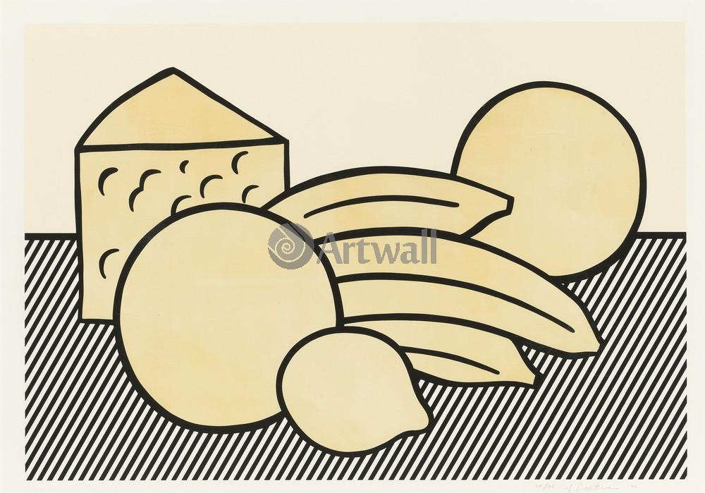 Лихтенштейн Рой, картина Желтый натюрмортЛихтенштейн Рой<br>Репродукция на холсте или бумаге. Любого нужного вам размера. В раме или без. Подвес в комплекте. Трехслойная надежная упаковка. Доставим в любую точку России. Вам осталось только повесить картину на стену!<br>