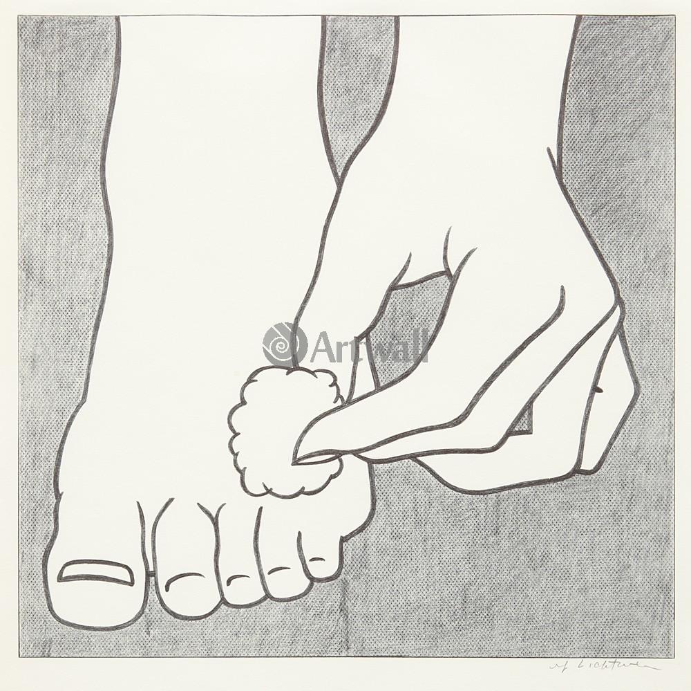 Лихтенштейн Рой, картина Плакат лечения ноги.pngЛихтенштейн Рой<br>Репродукция на холсте или бумаге. Любого нужного вам размера. В раме или без. Подвес в комплекте. Трехслойная надежная упаковка. Доставим в любую точку России. Вам осталось только повесить картину на стену!<br>