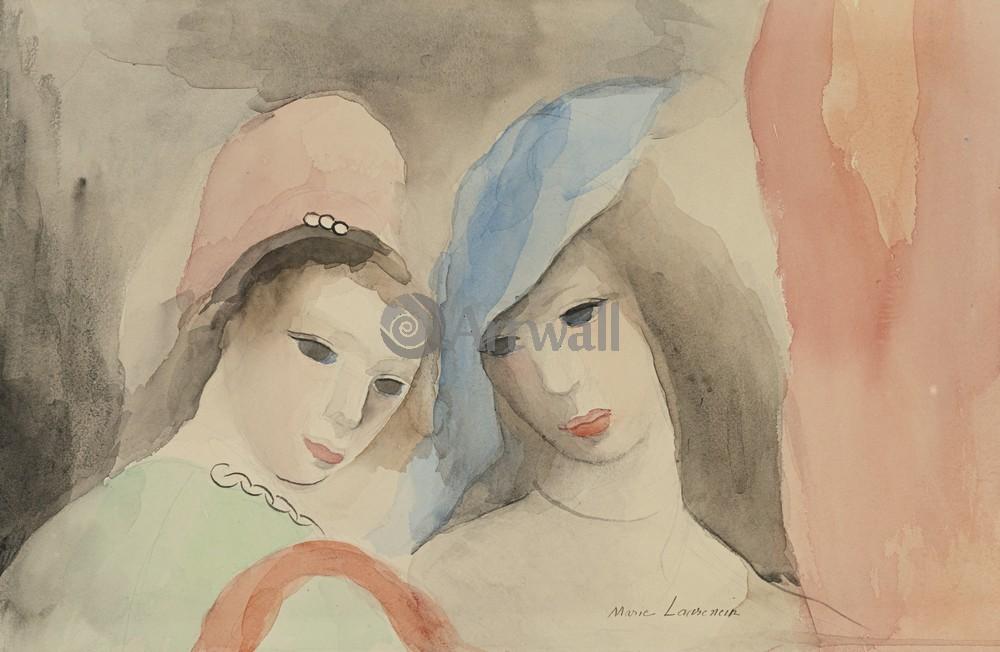 Лорансен Мари, картина Две девушки в шляпкахЛорансен Мари<br>Репродукция на холсте или бумаге. Любого нужного вам размера. В раме или без. Подвес в комплекте. Трехслойная надежная упаковка. Доставим в любую точку России. Вам осталось только повесить картину на стену!<br>