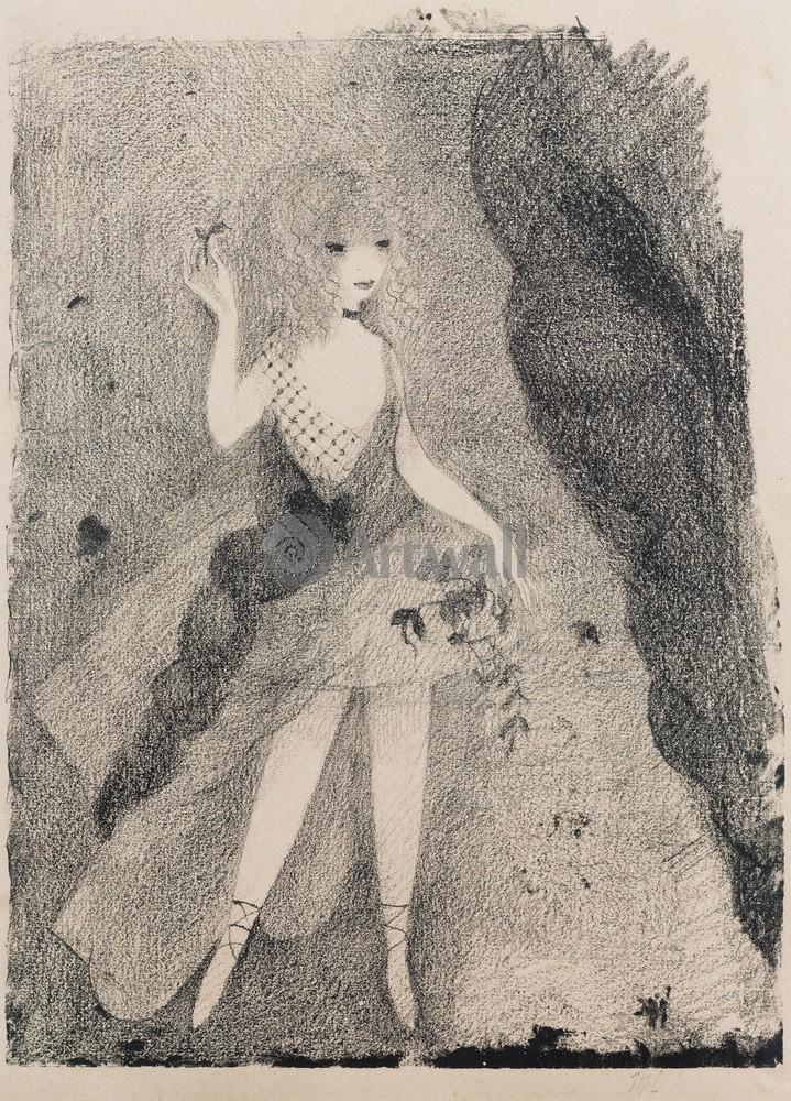 Лорансен Мари, картина Танцовщица с цветамиЛорансен Мари<br>Репродукция на холсте или бумаге. Любого нужного вам размера. В раме или без. Подвес в комплекте. Трехслойная надежная упаковка. Доставим в любую точку России. Вам осталось только повесить картину на стену!<br>