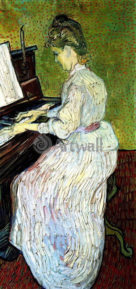 Ван Гог Винсент, картина Маргарет Гаше за пианиноВан Гог Винсент<br>Репродукция на холсте или бумаге. Любого нужного вам размера. В раме или без. Подвес в комплекте. Трехслойная надежная упаковка. Доставим в любую точку России. Вам осталось только повесить картину на стену!<br>