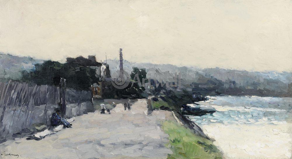 "Лебур Альбер, картина ""Руан, около холма св. Екатерины"" от Artwall"