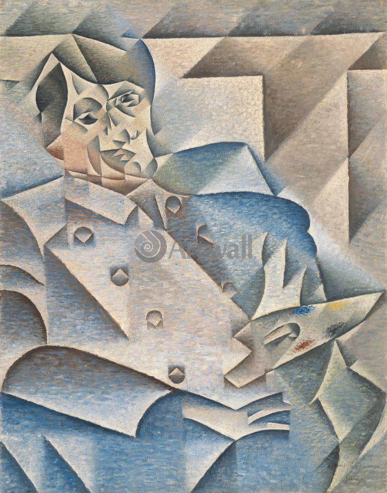 Грис Хуан, картина Портрет Пабло ПикассоГрис Хуан<br>Репродукция на холсте или бумаге. Любого нужного вам размера. В раме или без. Подвес в комплекте. Трехслойная надежная упаковка. Доставим в любую точку России. Вам осталось только повесить картину на стену!<br>