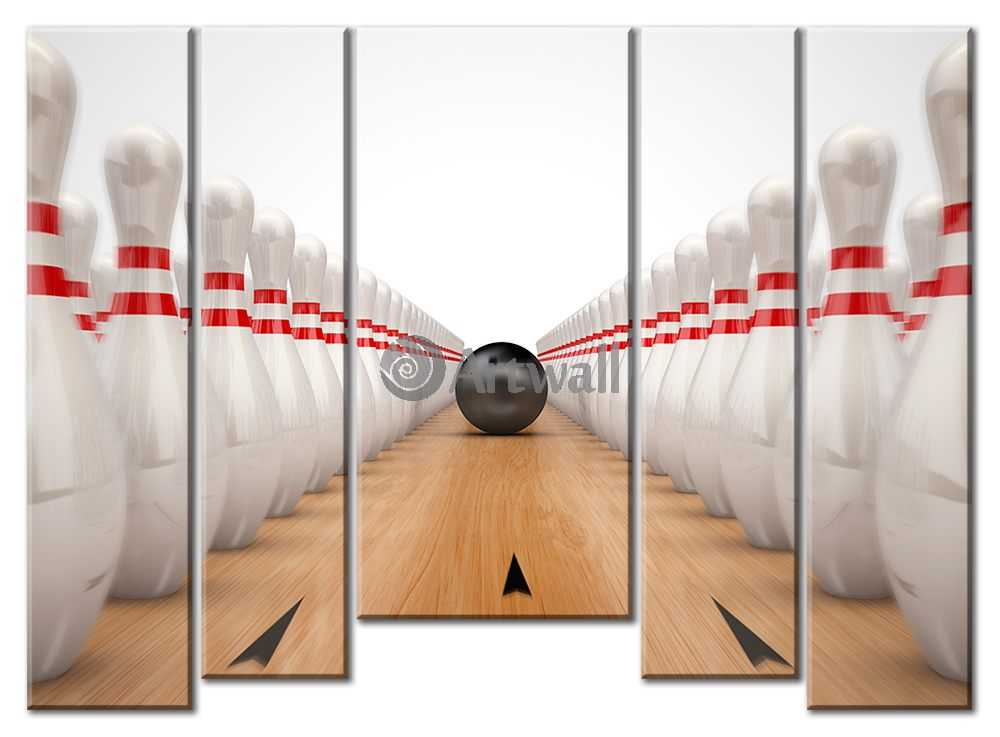 Модульная картина «Боулинг»Спорт<br>Модульная картина на натуральном холсте и деревянном подрамнике. Подвес в комплекте. Трехслойная надежная упаковка. Доставим в любую точку России. Вам осталось только повесить картину на стену!<br>