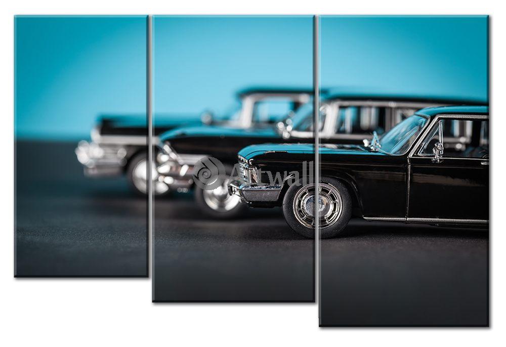 Модульная картина «Модели»Транспорт<br>Модульная картина на натуральном холсте и деревянном подрамнике. Подвес в комплекте. Трехслойная надежная упаковка. Доставим в любую точку России. Вам осталось только повесить картину на стену!<br>