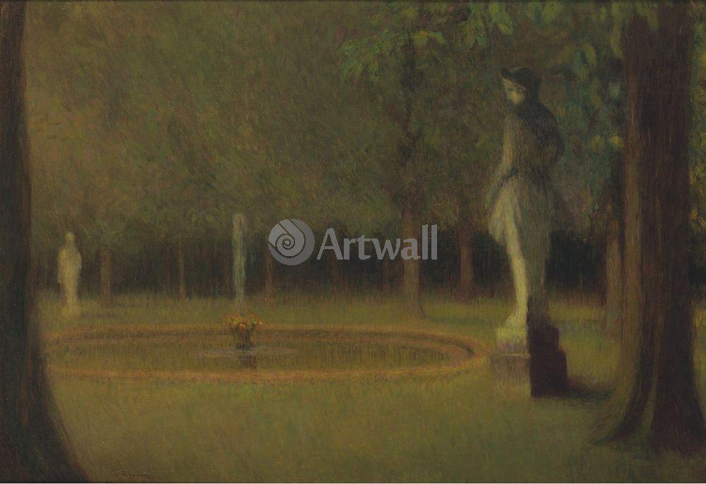 Сиданэ Анри Ле, картина Статуя в парке ВерсаляСиданэ Анри Ле<br>Репродукция на холсте или бумаге. Любого нужного вам размера. В раме или без. Подвес в комплекте. Трехслойная надежная упаковка. Доставим в любую точку России. Вам осталось только повесить картину на стену!<br>