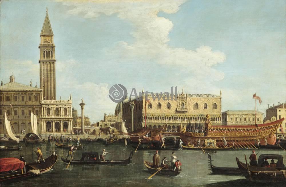 Венеция, картина Венецианская школа, Дворец дожейВенеция<br>Репродукция на холсте или бумаге. Любого нужного вам размера. В раме или без. Подвес в комплекте. Трехслойная надежная упаковка. Доставим в любую точку России. Вам осталось только повесить картину на стену!<br>
