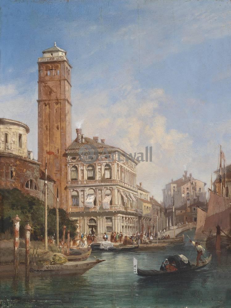 Постер Венеция - живопись Вильд Вильям, ВенецияВенеция - живопись<br>Постер на холсте или бумаге. Любого нужного вам размера. В раме или без. Подвес в комплекте. Трехслойная надежная упаковка. Доставим в любую точку России. Вам осталось только повесить картину на стену!<br>