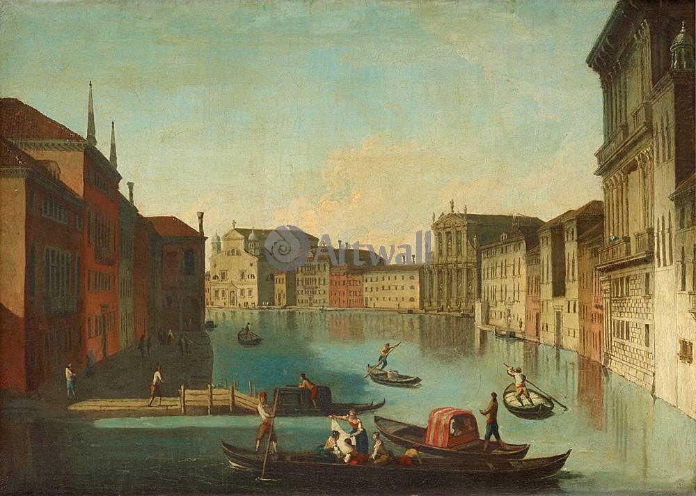 Венеция, картина Йохан Рихтер, Вид ВенецииВенеция<br>Репродукция на холсте или бумаге. Любого нужного вам размера. В раме или без. Подвес в комплекте. Трехслойная надежная упаковка. Доставим в любую точку России. Вам осталось только повесить картину на стену!<br>