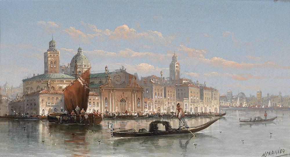 Постер Венеция - живопись Кауфман Карл, Вид ВенецииВенеция - живопись<br>Постер на холсте или бумаге. Любого нужного вам размера. В раме или без. Подвес в комплекте. Трехслойная надежная упаковка. Доставим в любую точку России. Вам осталось только повесить картину на стену!<br>