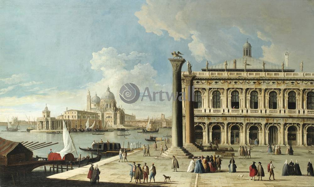 Венеция, картина Франческо Тиррони, Вид ВенецииВенеция<br>Репродукция на холсте или бумаге. Любого нужного вам размера. В раме или без. Подвес в комплекте. Трехслойная надежная упаковка. Доставим в любую точку России. Вам осталось только повесить картину на стену!<br>