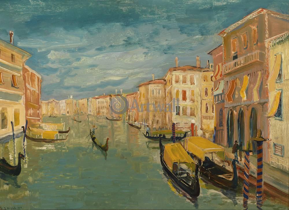 Постер Венеция - живопись Хубер Эрнст, ВенецияВенеция - живопись<br>Постер на холсте или бумаге. Любого нужного вам размера. В раме или без. Подвес в комплекте. Трехслойная надежная упаковка. Доставим в любую точку России. Вам осталось только повесить картину на стену!<br>