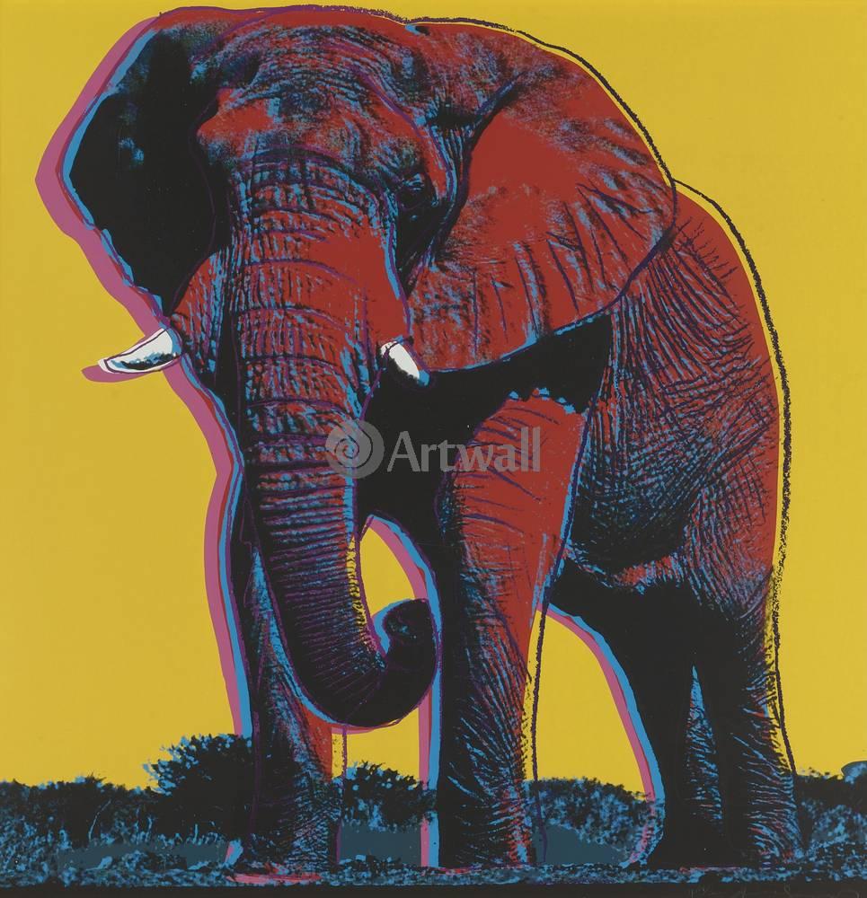 Уорхол Энди, картина Африканский слонУорхол Энди<br>Репродукция на холсте или бумаге. Любого нужного вам размера. В раме или без. Подвес в комплекте. Трехслойная надежная упаковка. Доставим в любую точку России. Вам осталось только повесить картину на стену!<br>