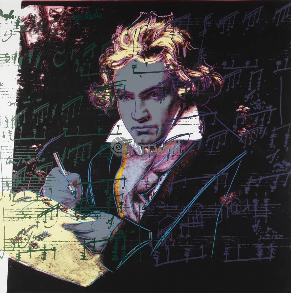 Уорхол Энди, картина БетховенУорхол Энди<br>Репродукция на холсте или бумаге. Любого нужного вам размера. В раме или без. Подвес в комплекте. Трехслойная надежная упаковка. Доставим в любую точку России. Вам осталось только повесить картину на стену!<br>