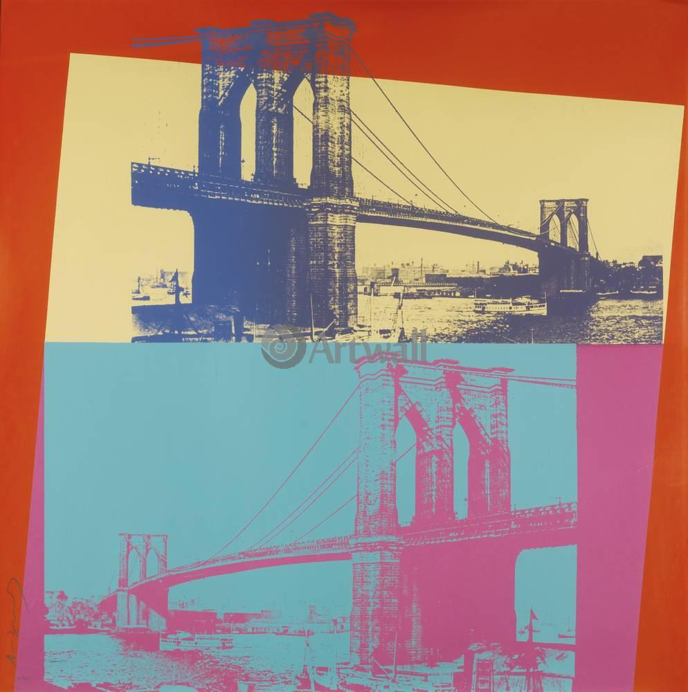 Уорхол Энди, картина Бруклинский мостУорхол Энди<br>Репродукция на холсте или бумаге. Любого нужного вам размера. В раме или без. Подвес в комплекте. Трехслойная надежная упаковка. Доставим в любую точку России. Вам осталось только повесить картину на стену!<br>