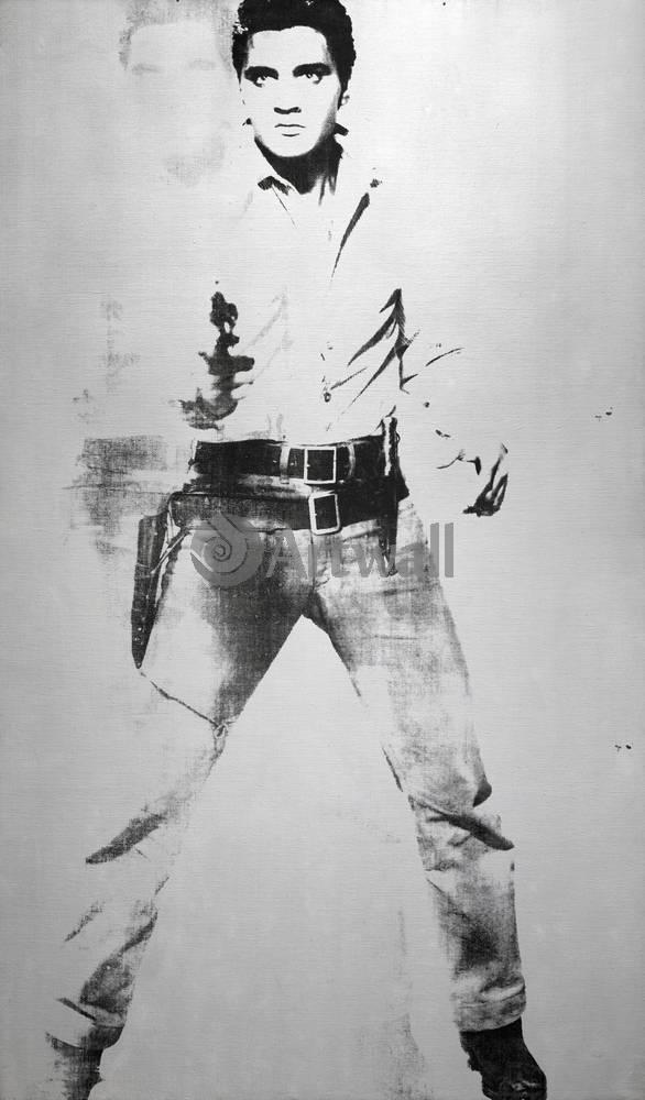 Художники, картина Двойной Элвис, 20x34 см, на бумагеУорхол Энди<br>Постер на холсте или бумаге. Любого нужного вам размера. В раме или без. Подвес в комплекте. Трехслойная надежная упаковка. Доставим в любую точку России. Вам осталось только повесить картину на стену!<br>